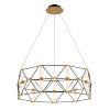This item: Labyrinth Black Aged Brass Nine-Light  Pendant
