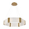 This item: Forever Aged Brass LED Chandelier