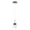 This item: Double Bubble Black LED Mini Pendant