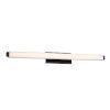 This item: Mini Vogue Black 21W 3500K LED ADA Bath Bar