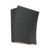 This item: Slide Black Two-Light LED 3500K Wall Sconce