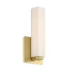 This item: Vogue Brushed Brass 16W 3500K LED ADA Wall Sconce