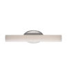 This item: Loft Brushed Nickel 17W 2700K LED ADA Bath Bar
