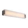 This item: Quarry Brushed Nickel 28-Inch LED Bath Vanity