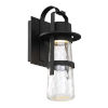 This item: Balthus Black Nine-Inch LED  Outdoor Wall Light