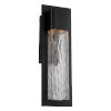 This item: Mist Black 20-Inch LED Outdoor Wall Light