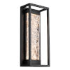 This item: Elyse Black 17-Inch LED Outdoor Wall Light