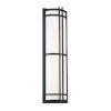 This item: Skyscraper Black 27-Inch LED 2700K Outdoor Wall Light