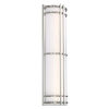 This item: Skyscraper Stainless Steel 24W 3500K LED ADA Outdoor Wall Light