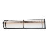 This item: Skyscraper Black 37-Inch LED 3000K Outdoor Wall Light