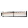 This item: Skyscraper Bronze 37-Inch LED 3000K Outdoor Wall Light
