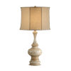 This item: Taupe One-Light 12-Inch Turned Urn Lamp
