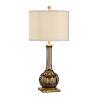 This item: Bronze and Antique Silver One-Light 7-Inch Santa Clara Wedding Lamp