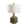 This item: White and Gray One-Light 6-Inch Tremont Lamp