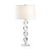 This item: Silver One-Light 9-Inch Arden Lamp