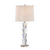 This item: Silver One-Light 10-Inch Crystal Fountain Lamp