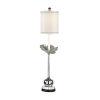 This item: Silver One-Light 12-Inch Zoey Lamp