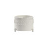 This item: White 11-Inch Laurel Cachepot