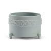 This item: Blue 9-Inch Laurel Cachepot