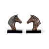 This item: Black 8-Inch Horse Bookends Pair