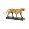 This item: Gold 16-Inch Art Deco Tiger