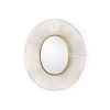 This item: White and Gold 35-Inch Luton Mirror