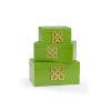 This item: Green 14-Inch Hampton Boxes, Set of 3
