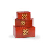 This item: Red 14-Inch Hampton Boxes, Set of 3