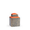 This item: Gray 9-Inch Grayson Canister