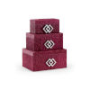 This item: Purple 14-Inch Kure Boxes, Set of 3