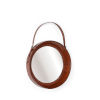 This item: Brown 21-Inch Small Taner Mirror