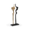 This item: Gold and Black 11-Inch Golden Year Sculpture