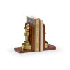 This item: Brown 5-Inch Large Game Room Bookends Pair