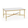 This item: Gold French Cocktail Table