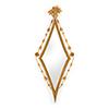 This item: Gold Diamond Hall Mirror