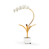 This item: Bradshaw Orrell Gold Orchid in Stand