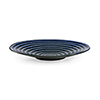 This item: Blue and Black Swirl Plate- Large