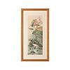 This item: Gold Crane and Lotus Panel II Print