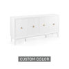 This item: White 72-Inch Diamond Sideboard