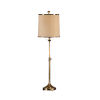 This item: Gold One-Light 10-Inch Adjustable Table Lamp