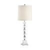 This item: Silver One-Light 7-Inch Alexis Lamp