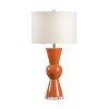 This item: Orange and Cream One-Light 11-Inch Mildred Lamp