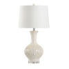 This item: Off White One-Light 6-Inch Sea Grass Lamp