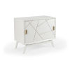 This item: White 42-Inch Sinatra Drinks Cabinet