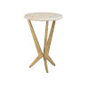 This item: Gold 17-Inch Jetson Table