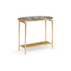 This item: Gold 24-Inch Rockefeller Table