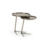 This item: Brown 21-Inch Layers Accent Tables, Set of 2