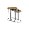 This item: Bronze 19-Inch Manitou Springs Nesting Table, Set of 3