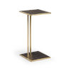 This item: Gold 12-Inch 2 Level Table
