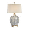 This item: Ivory One-Light 14-Inch Ancient Snuff Bottle Lamp